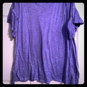 Pretty Purple Lane Bryant Shirt